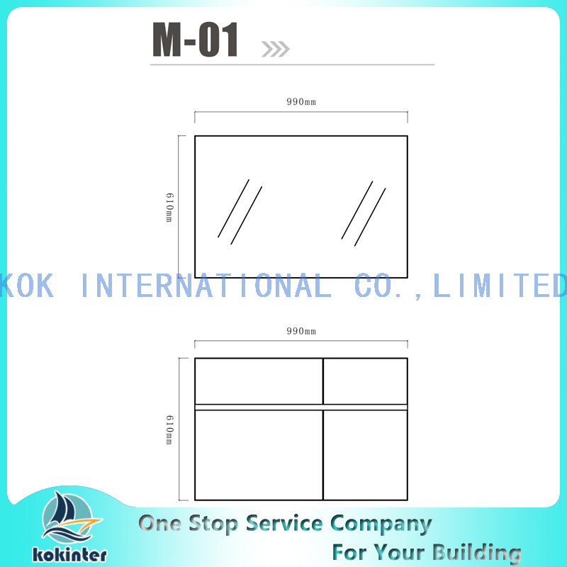Bathroom cabinet Vanity set M01