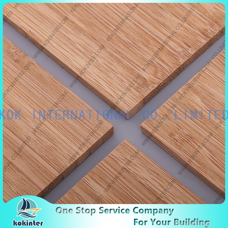 Single Layer Bamboo Panel / Bamboo Board / Bamboo Plank /Bamboo parquet for furniture/ wall decorative / countertop / worktop / cabinets-Vertical Caramel