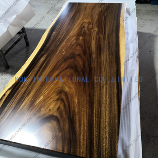 Live Edge Single South America Walnut Slab Table worktop countertop