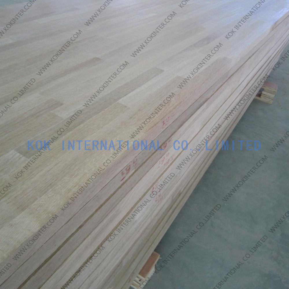 white oak finger joint board panel for furniture worktop table tops butcher countertops